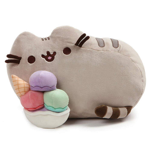 Pusheen Snackables Ice Cream Cat Plush