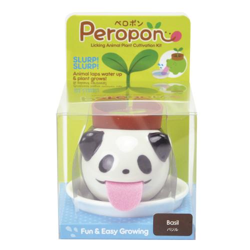 Peropon Basil Panda Licking Animal Plant