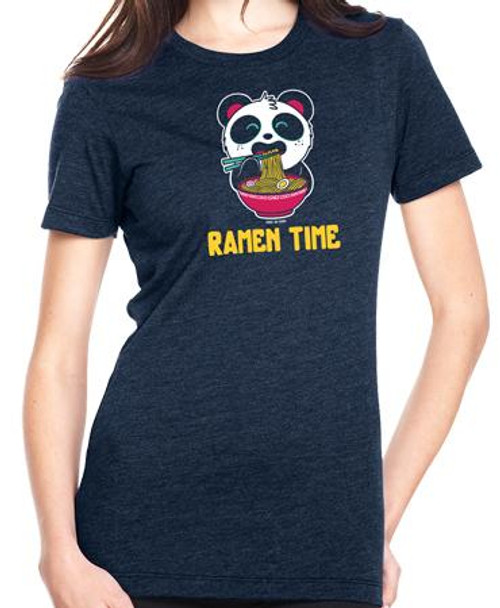 Pandi The Panda Ramen Time T-Shirt