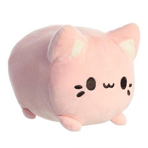 """Meowchi Cat 7"""" Plush - Strawberry"""