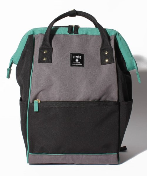 Anello Regular Daypack Black / Teal