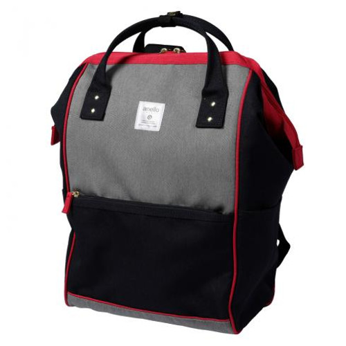 Anello Regular Daypack Navy/ Red