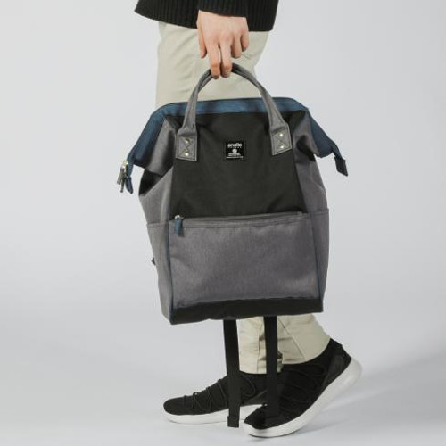 Anello Regular Daypack Gray/Dark Blue