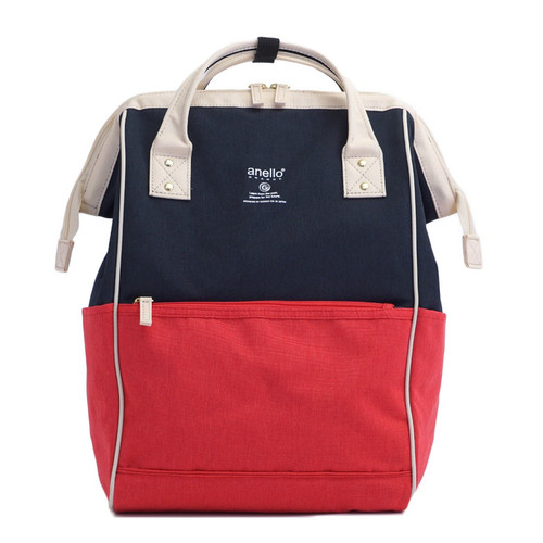 Anello Regular Daypack Red/Beige