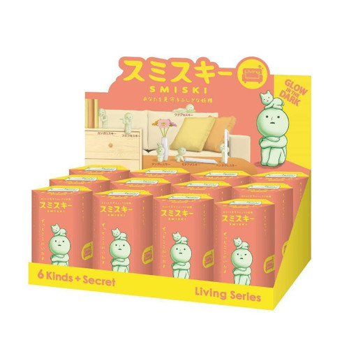 Smiski Glow in the Dark Blind Box - Living Room Series (Random)