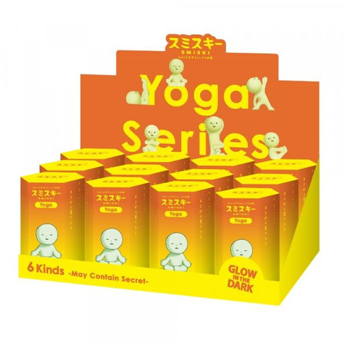 Smiski Glow in the Dark Blind Box - Yoga Series (Random)