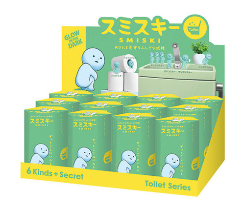 Smiski Glow in the Dark Blind Box - Toilet Series (Random)