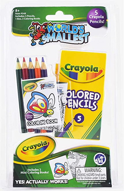 World's Smallest - Crayola Set