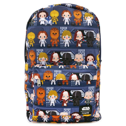 Loungefly x Star Wars Chibi Battle Station Line Up Backpack