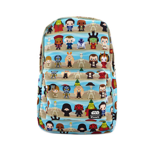 Loungefly x Star Wars Phantom Menace Chibi Character Backpack