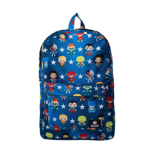 Loungefly x DC Comics Justice League Chibi Print Backpack