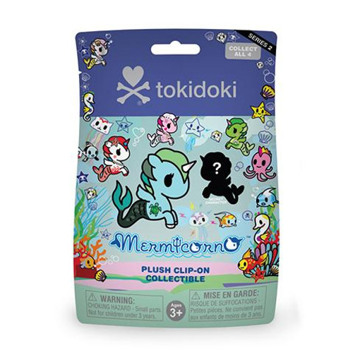 Tokidoki Mermicorno Plush Keychain Blind Bag Series 2 (Random)