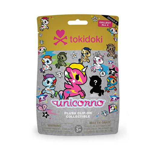 Tokidoki Unicorno Plush Keychain Blind Bag Series 2 (Random)