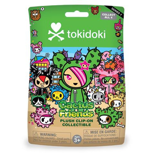 Tokidoki Cactus Friends Plush Keychain Blind Bag (Random)