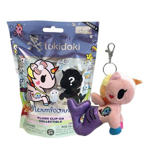 Tokidoki Mermicorno Plush Keychain Blind Bag Series 3 (Random)