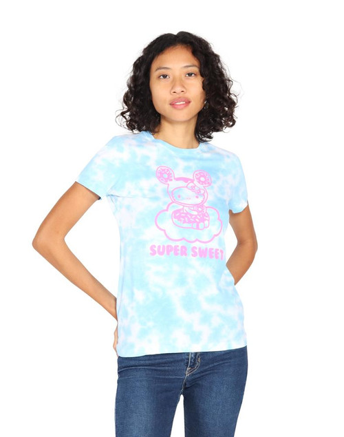 tokidoki x Hello Kitty Cloudy Donut Tie Dye Kitty Tee