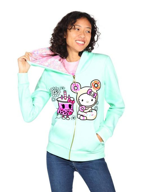 tokidoki x Hello Kitty Boba BFF Kitty Hoodie