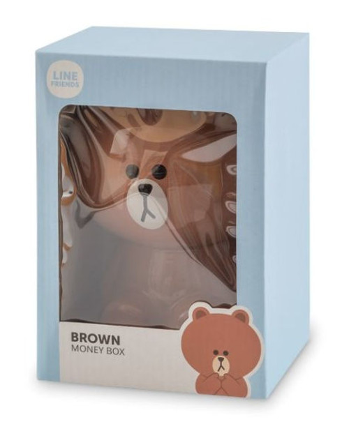 Line Friends Money Box (Brown)