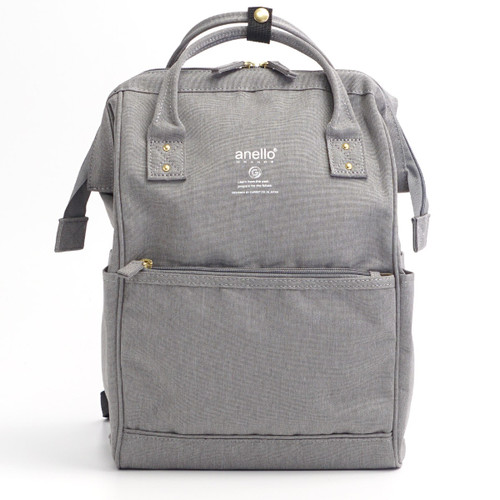 Anello Grande Polyester Mini Daypack - Light Gray