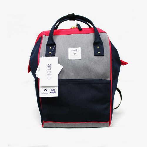 Anello Grande Mini Daypack - Navy/Red