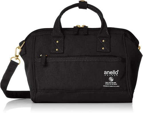 Anello 2way Mini Shoulder Bag - Black