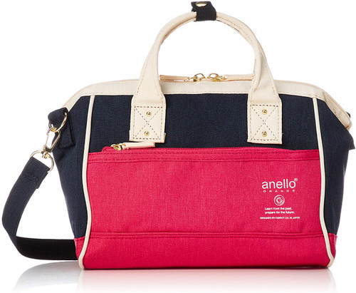Anello 2way Mini Shoulder Bag - Red
