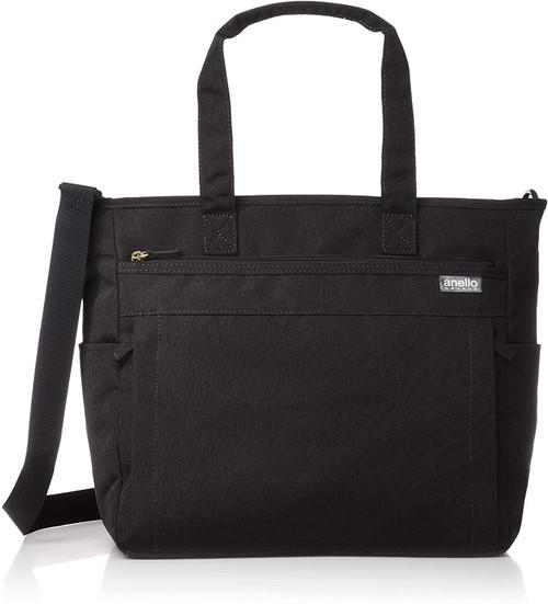 Anello 2WAY Tote Bag - Black