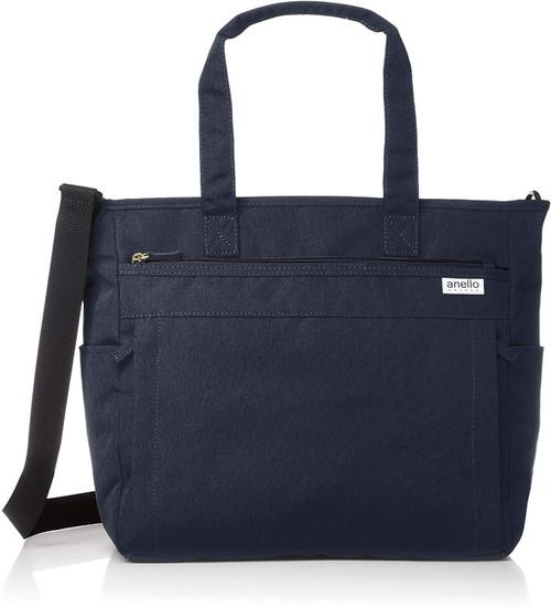Anello 2WAY Tote Bag - Navy
