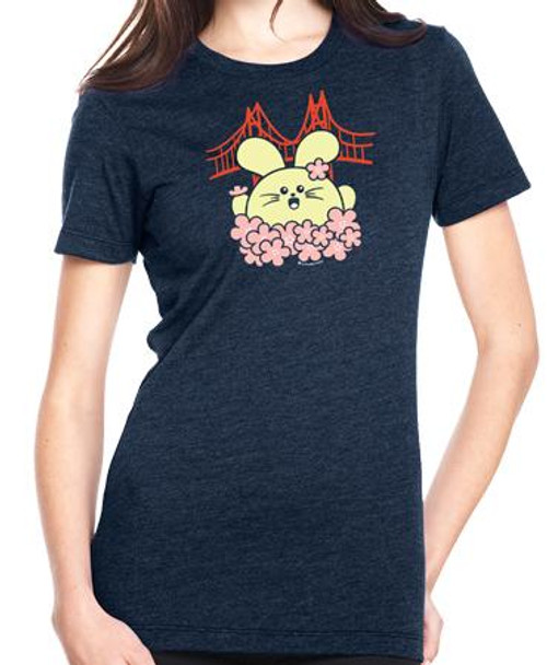 Fat Rabbit Farm Cherry Blossom Babee T-Shirt