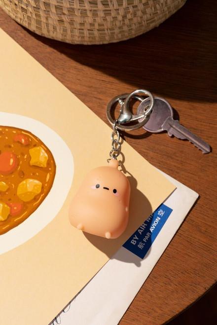 Smoko Tayto Potato Light-Up Keychain