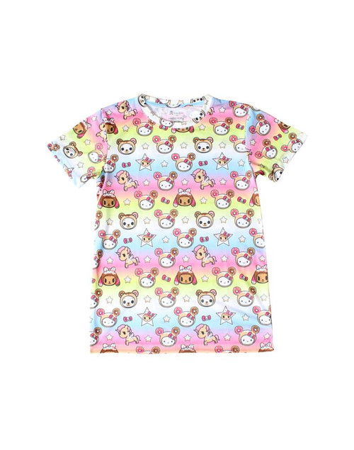 tokidoki x Hello Kitty Kitty Goes Donuts Boy Fit Tee