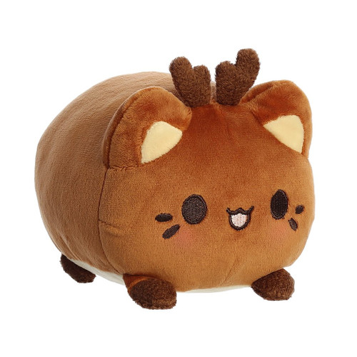 "Meowchi Cat 7"" Plush - Reindeer"