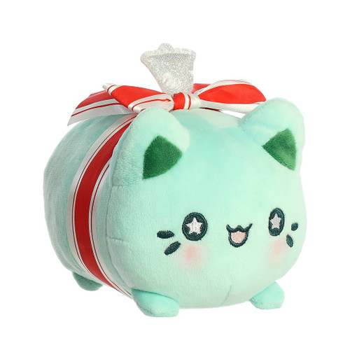 "Meowchi Cat 7"" Plush - Winter Wreath"