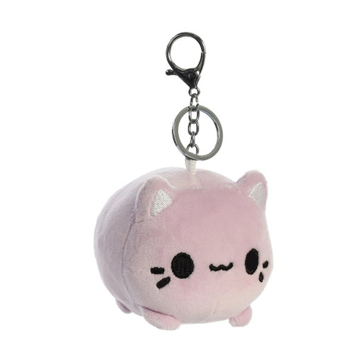 "Meowchi 3.5"" Clip-On Keychain - Purple"