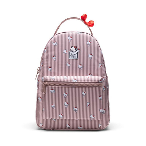 Herschel x Hello Kitty Hickory Stripe Nova Mid Volume Backpack