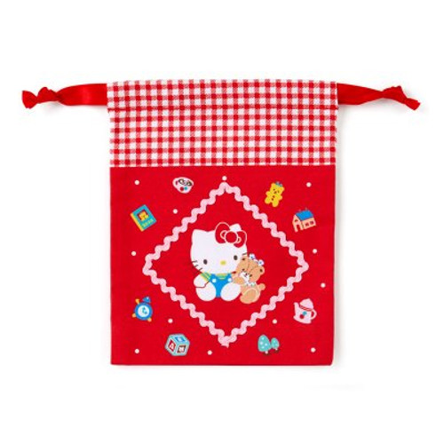 Hello Kitty Mini Drawstring Bag