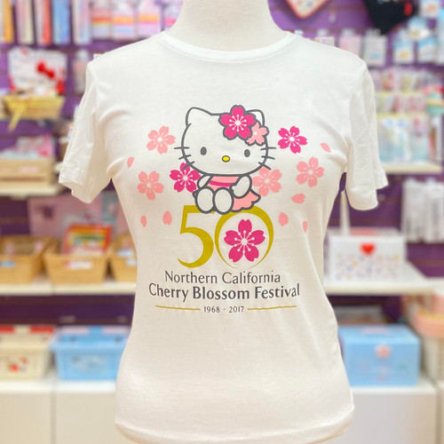 Hello Kitty Cherry Blossom 50th Anniversary Festival Tee