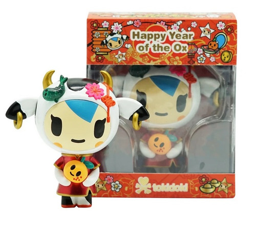 Tokidoki Year of the Ox 2021 Vinyl Figure