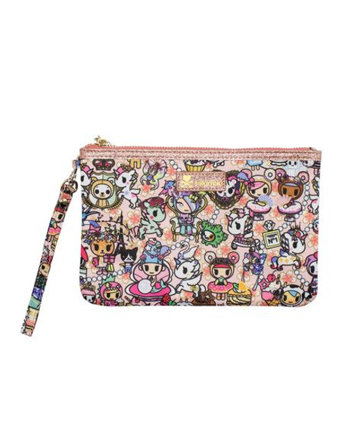 Kawaii Confections Zip Pouch Wristlet