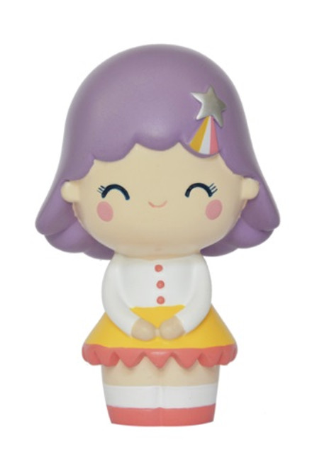 Momiji Birthday Girl Lavender Message Doll Collectible