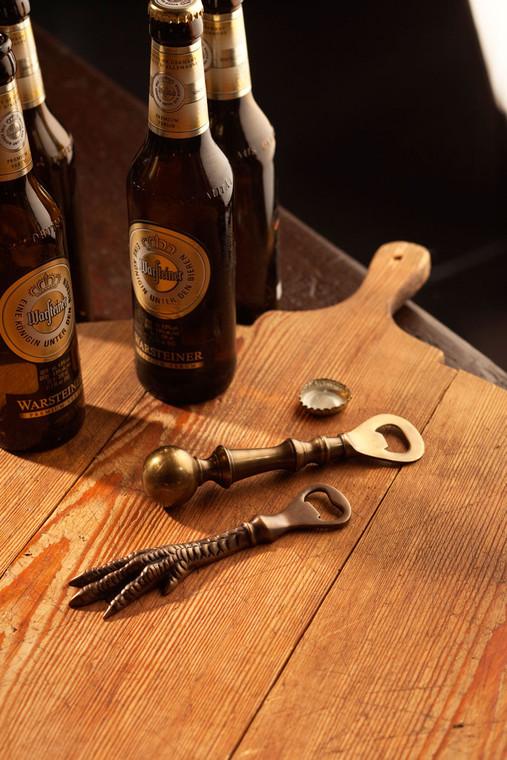 Antiqued Brass Bottle Opener