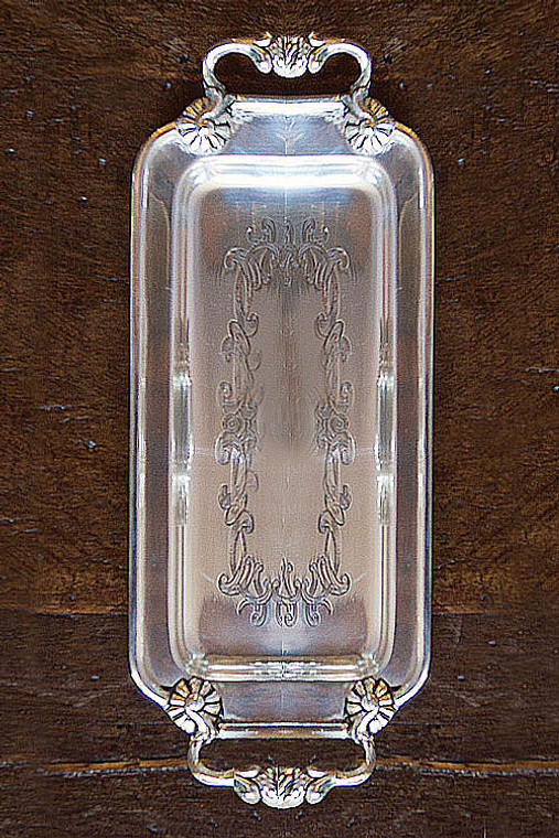 Silver Plated Decorative Small Tray