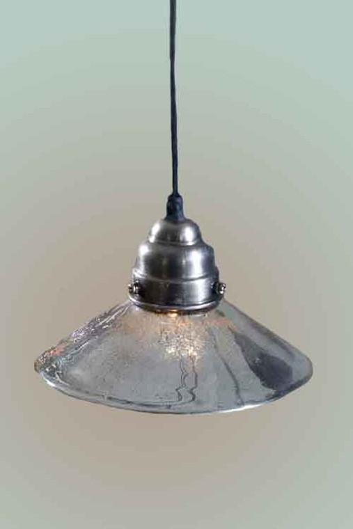 Antiqued Mercury Glass Classic Pendant