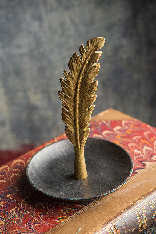 Feather Jewelry/Coin Holder