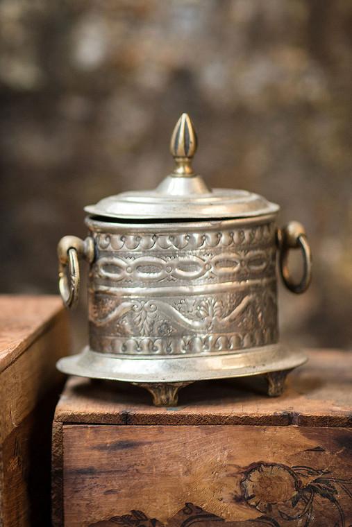 Vintage Moroccan Spice Box