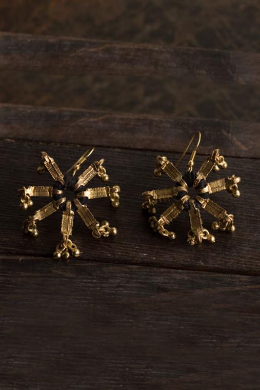 Gold Star Earrings