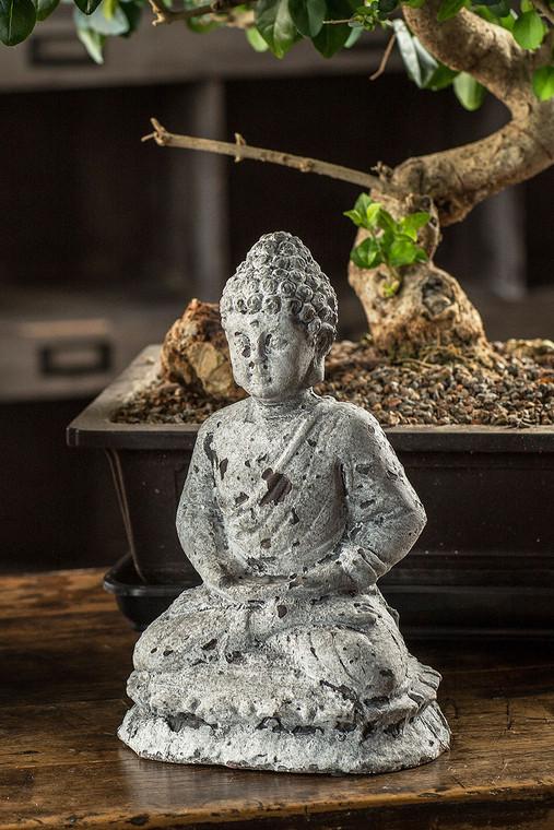 Cement Seated Buddha