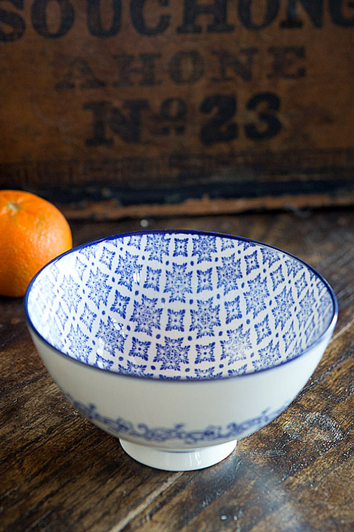Blue and White Bowl - III