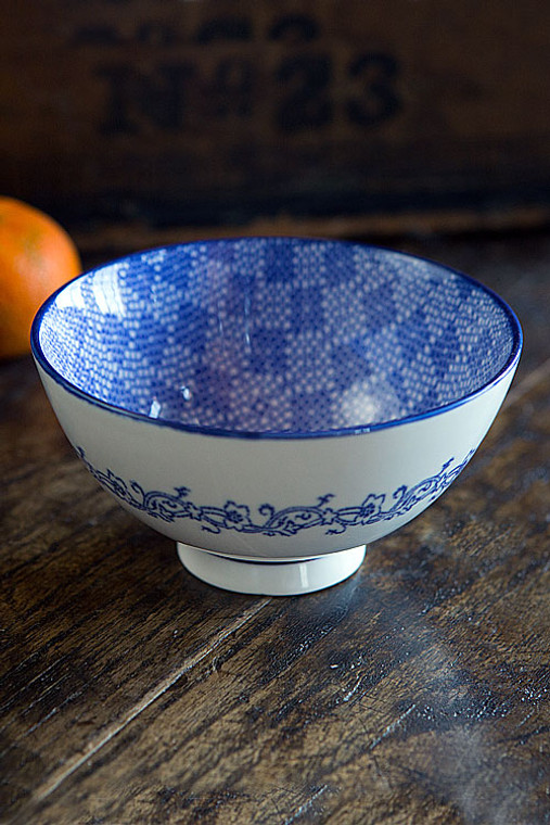 Blue and White Bowl - IV