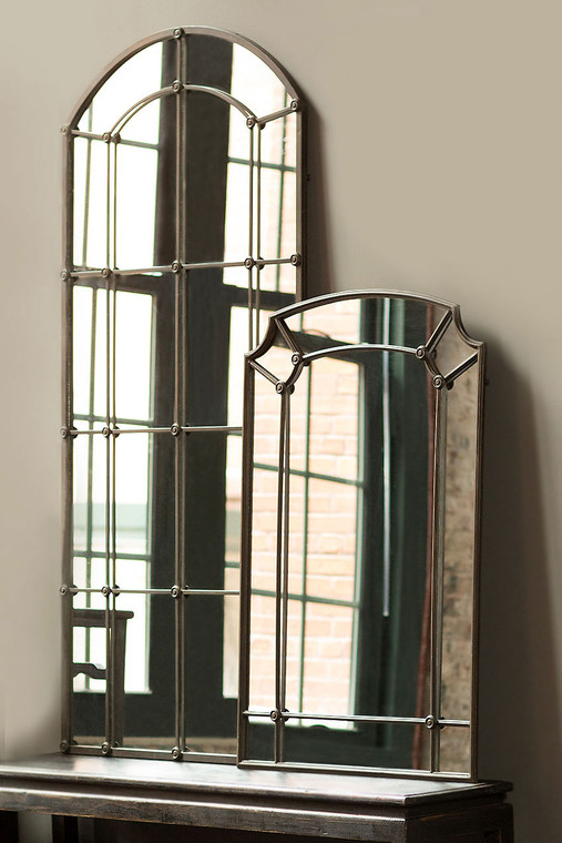 Cast Iron Tall Mirror